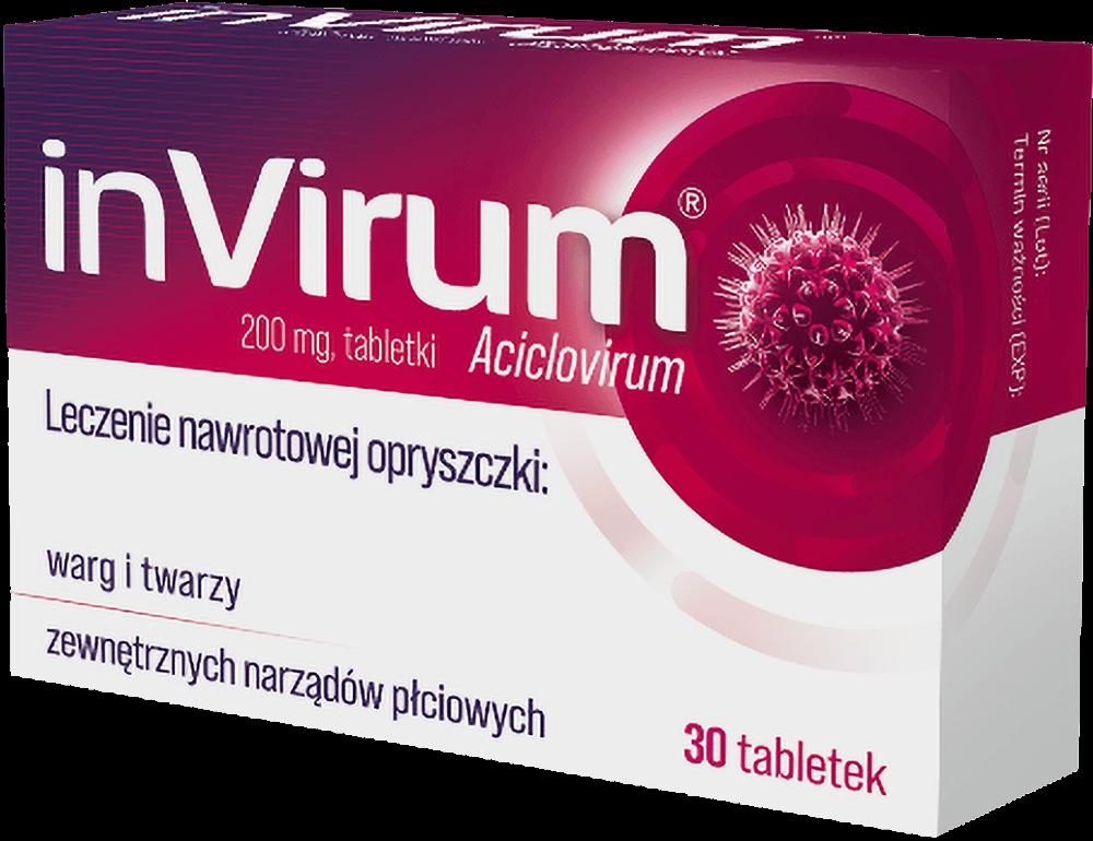 inVirum - leczenie nawrotowej opryszczki